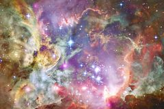 Beauty of outer space. Science fiction wallpaper. Elements of this image furnished by NASA stock image