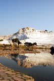 The beauty of PamukKale, Turkey. Middle East Stock Photography