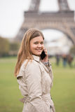 Beauty in Paris Stock Photography
