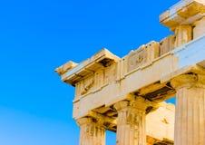 Beauty of Parthenon Stock Photography
