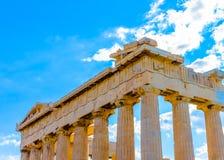Beauty of Parthenon Royalty Free Stock Photography