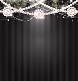 Beauty Pearl Background Vector Illustration Royalty Free Stock Photography