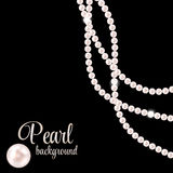 Beauty Pearl Background Vector Illustration Stock Photo