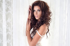 Beauty photo of attractive woman Royalty Free Stock Photo
