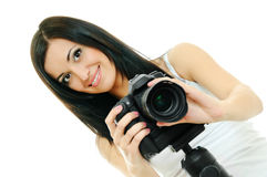 Beauty photographer Stock Image