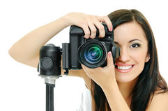 Beauty photographer Stock Images