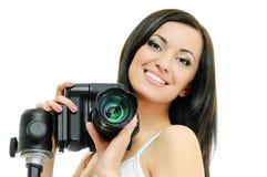 Beauty photographer Stock Photo
