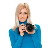 Beauty photographer Royalty Free Stock Photo