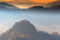 The beauty of Pieniny Royalty Free Stock Photos