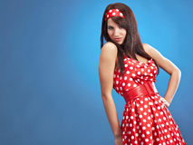 Beauty pin-up female Stock Photography