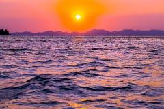 Beauty pink sunrise Royalty Free Stock Image