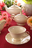 Beauty porcelain pottery Stock Photo