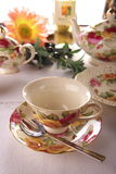 Beauty porcelain pottery Stock Images