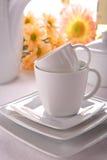 Beauty porcelain pottery Royalty Free Stock Photo