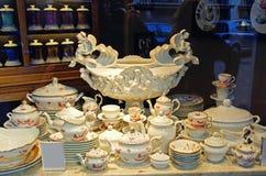 Beauty porcelain pottery Royalty Free Stock Photos