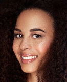 Beauty portrait of african american girl. Royalty Free Stock Photography