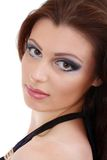 Beauty portrait of attractive model face Royalty Free Stock Photo
