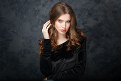 Beauty portrait of attractive young woman Royalty Free Stock Photo