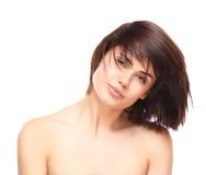 Beauty Portrait. Beautiful Spa Woman Smiling. Stock Photo