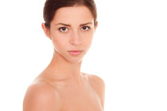 Beauty Portrait. Beautiful Spa Woman. Royalty Free Stock Images