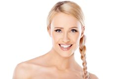 Beauty portrait of blond woman Stock Photo