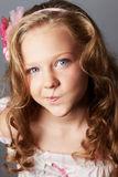 Beauty portrait of blonde girl Royalty Free Stock Photography