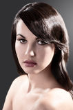 Beauty portrait of a brunette Stock Image