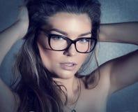 Beauty portrait of brunette woman. Royalty Free Stock Photo