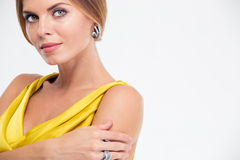 Beauty portrait of a charming fashion model Royalty Free Stock Image