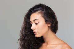Beauty portrait of a charming woman Stock Photo