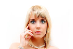 Beauty portrait Stock Images
