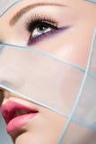 Beauty portrait, closeup Stock Photography