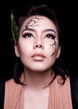 Beauty portrait. Creative makeup Royalty Free Stock Photography