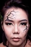 Beauty portrait. Creative makeup Royalty Free Stock Photos