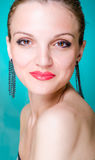 Beauty portrait fashion model Royalty Free Stock Images