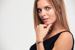 Beauty portrait of a fashion woman Stock Photo