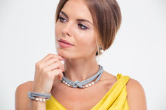 Beauty portrait of a female model Stock Photography