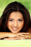 Beauty portrait of a hispanic girl Royalty Free Stock Photo
