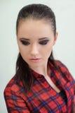Beauty Portrait. Make-up Stock Image
