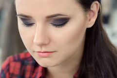 Beauty Portrait. Make-up Royalty Free Stock Image
