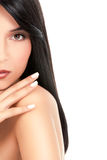 Beauty Portrait Of A Young Woman Royalty Free Stock Photography