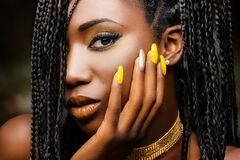 Free Beauty Portrait Of Sensual African Woman. Royalty Free Stock Photo - 213572755