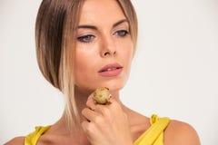 Beauty portrait of a pretty fashion woman Stock Photo