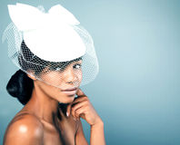 Beauty portrait of sensual woman Royalty Free Stock Photo