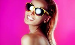 Beauty portrait of sensual woman. Stock Photo
