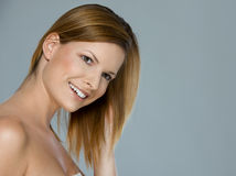 Beauty portrait of smiling girl Royalty Free Stock Image
