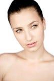 Beauty portrait of teen girl Stock Photos