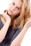 Beauty portrait of a teen Royalty Free Stock Photo