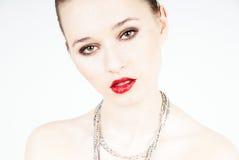 beauty portrait woman Στοκ εικόνα με δικαίωμα ελεύθερης χρήσης