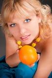 Beauty portrait woman Stock Photos